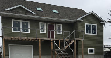 Lindenhurst, Long Island House Damaged By Sandy