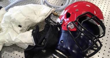 Smart Helmet under development at Stevens Institute of Technology