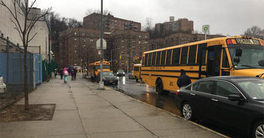 NYC Schools Open During Nor'easter