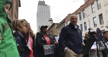 Sen. Charles Schumer Calls For Gun Legislation