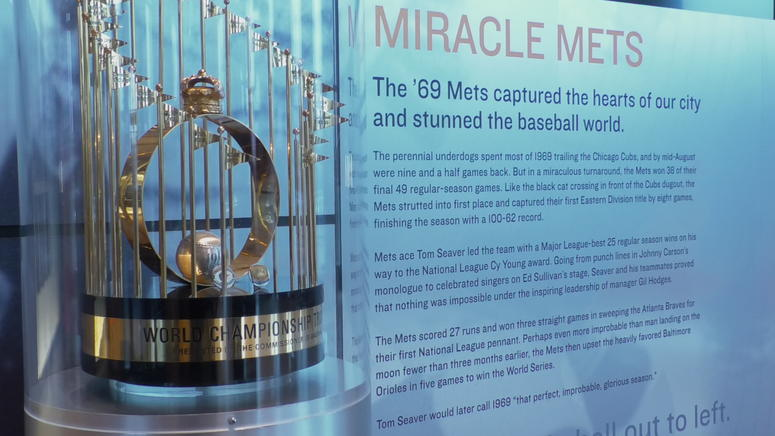 Miracle Mets display
