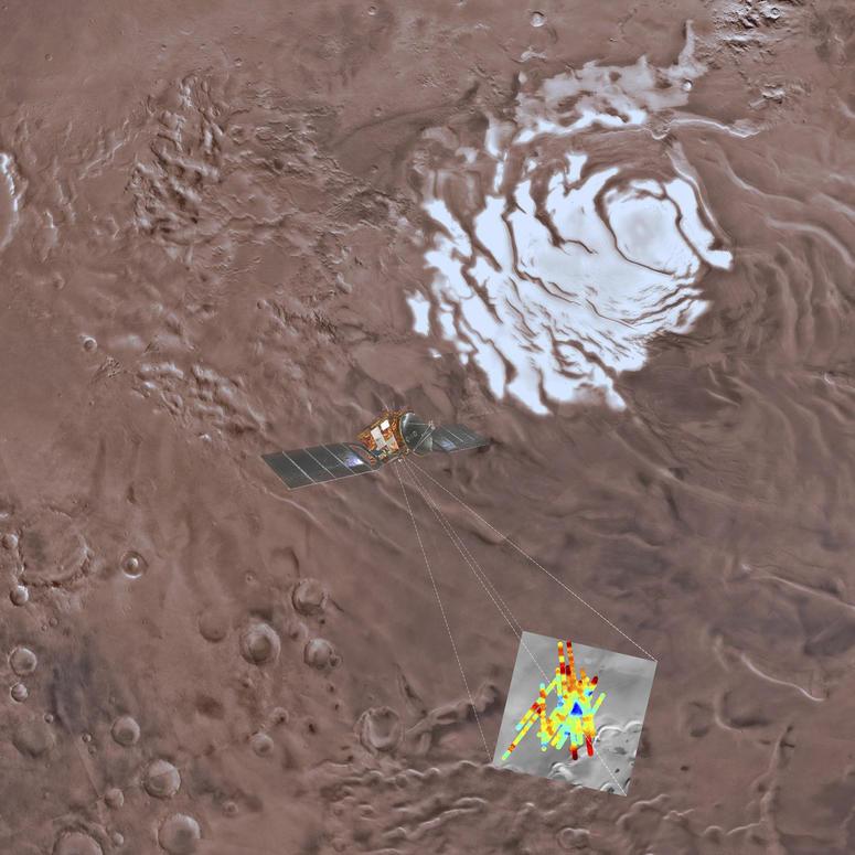 Saltwater Lake Found On Mars