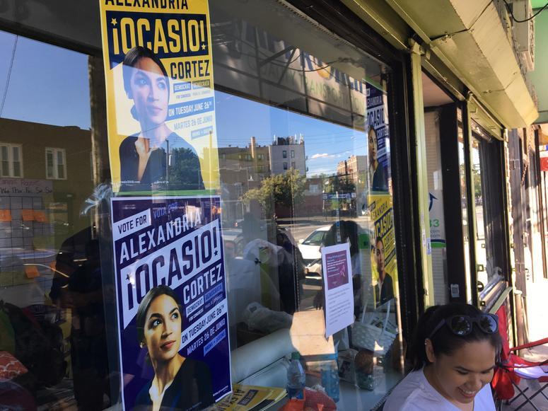 Alexandria Ocasio-Cortez Campaign Signs