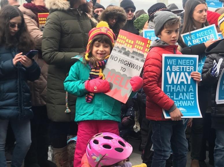 BQE DOT protest