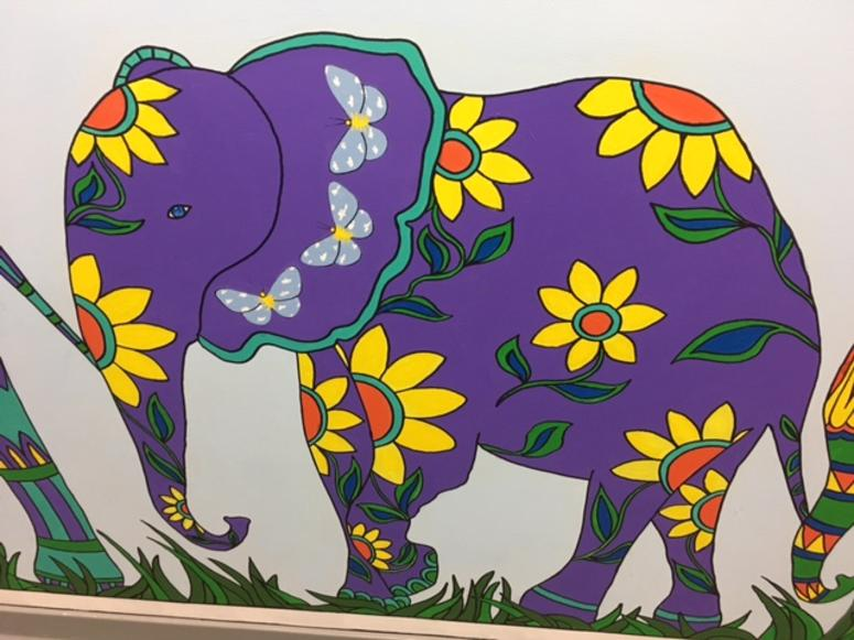 Murals By 'Changing Images' At The Imagine Center For Coping With Loss