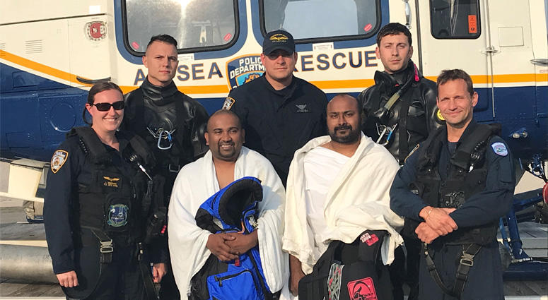 Kayakers Rescued By NYPD