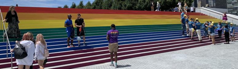 Pride Flag Roosevelt Island