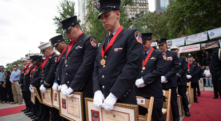 FDNY Medal Day