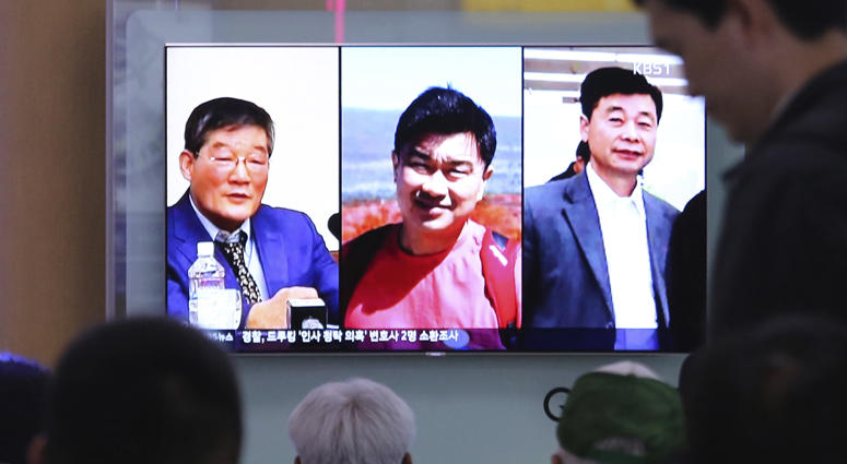 North Korean Detainees Released