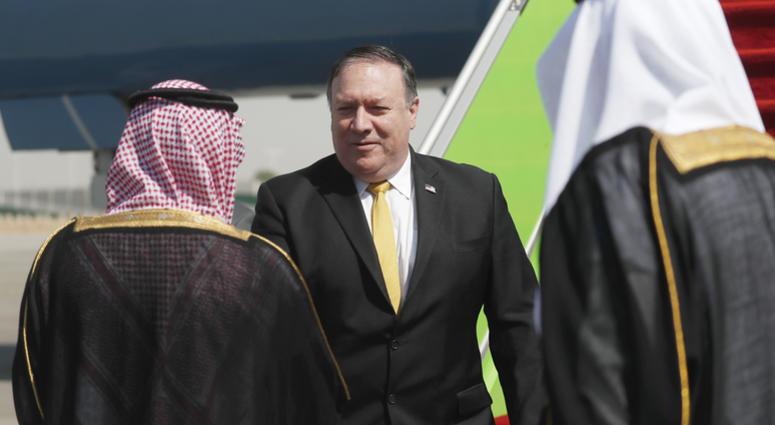 Mike Pompeo in Saudi Arabia
