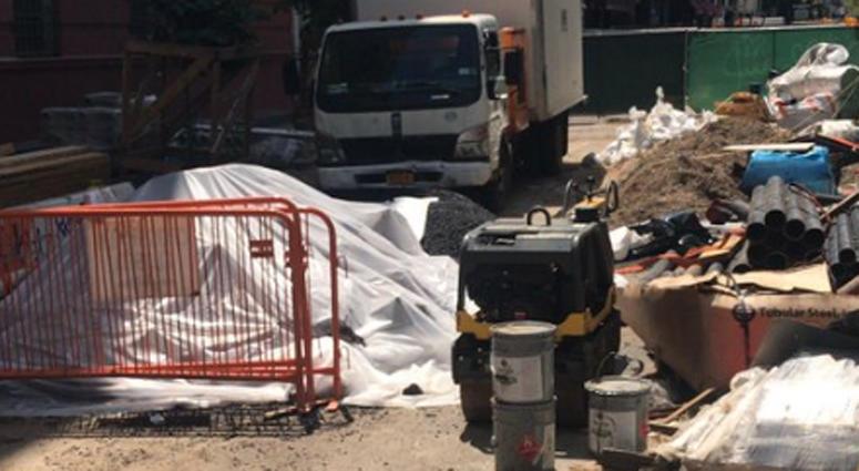 Construction site bone