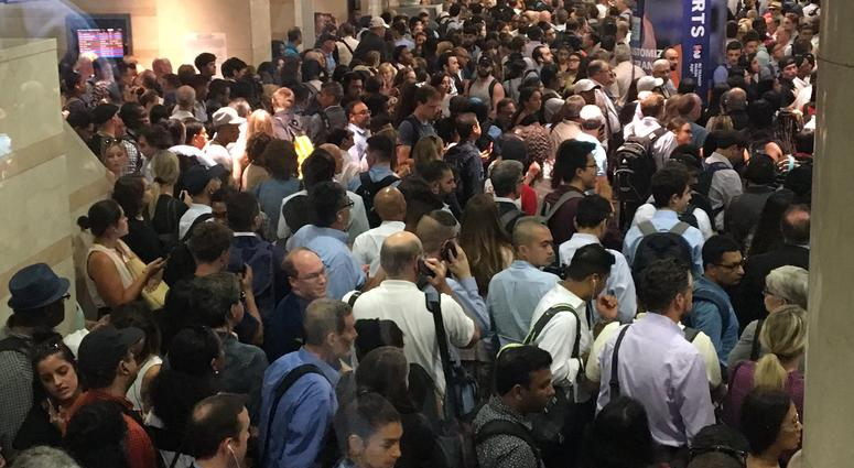 NJ Transit Suspends Service After Amtrak Work Train Catches