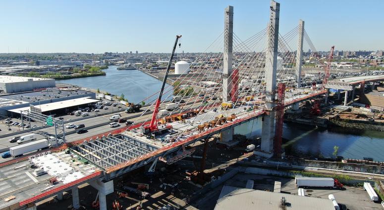 Second Span Of New Kosciuszko Bridge