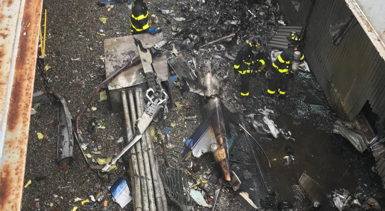 Midtown Helicopter Crash