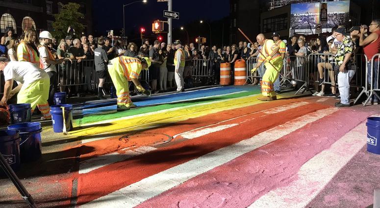 Pride Sidewalk