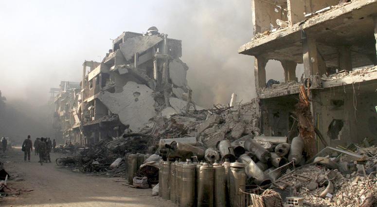 Battle Near Damascus