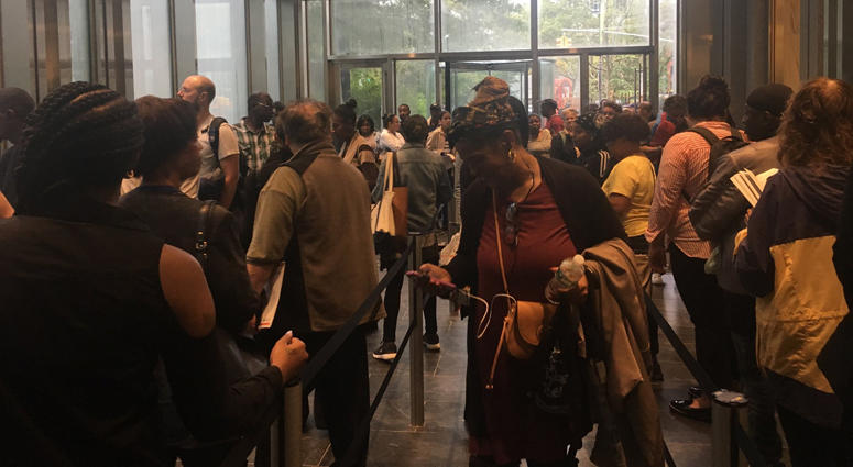 NYCHA Residents Pack Federal Court
