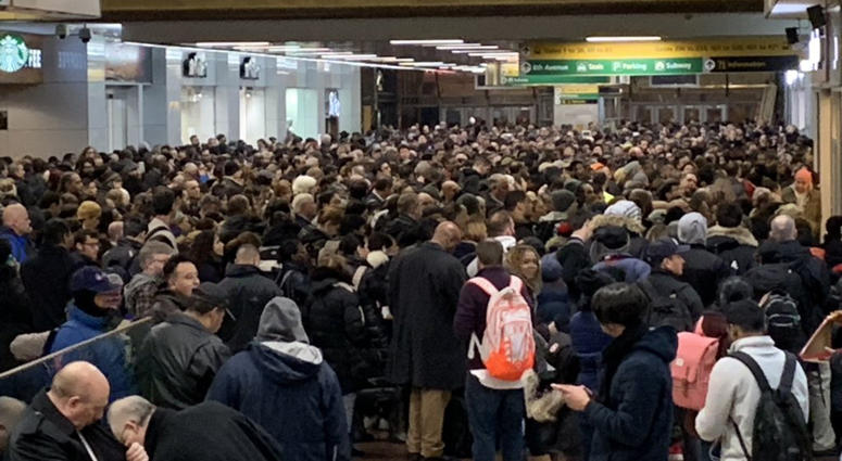 Port Authority Bus Terminal Overcrowding