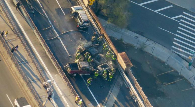 Brooklyn Bridge Crash