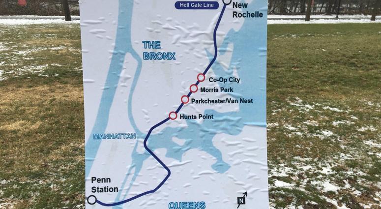 Penn Station Access Map