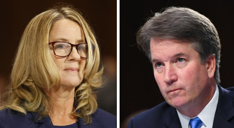 Christine Blasey Ford - Brett Kavanaugh