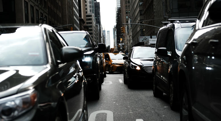 Traffic Manhattan