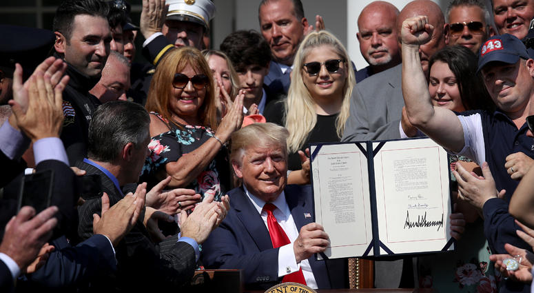 President Trump Signs September 11th Victim Compensation Fund Act