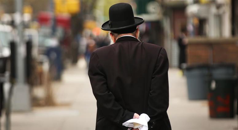 Hasidic man
