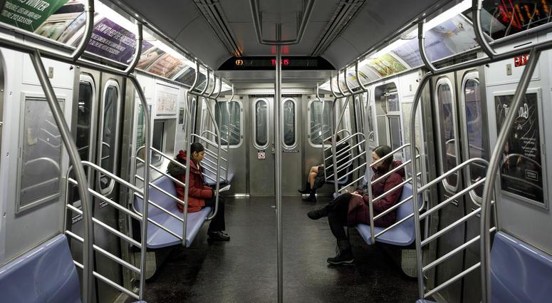 Subway F train