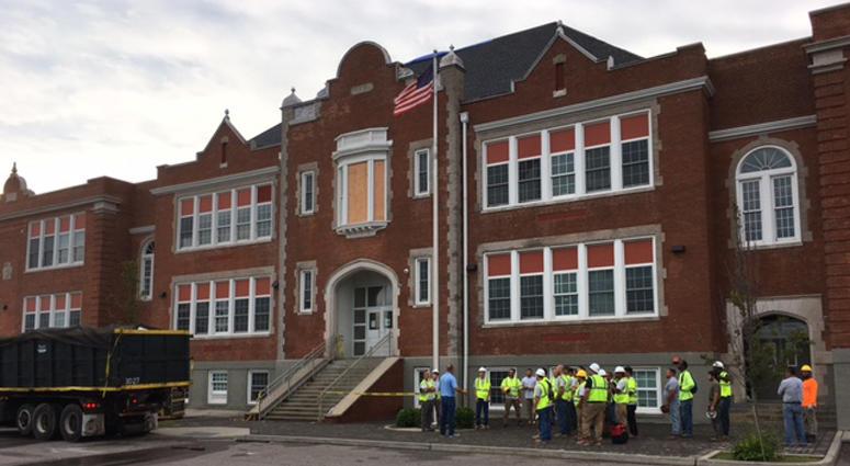 Prospect School in Hempstead Hit By Lightning