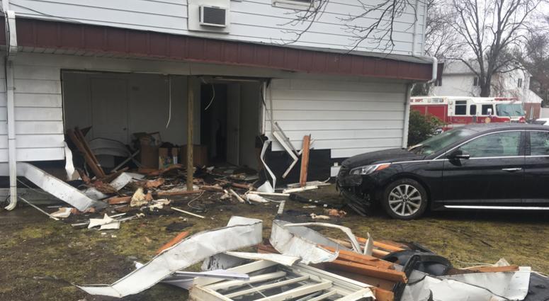 Long Island House Crash