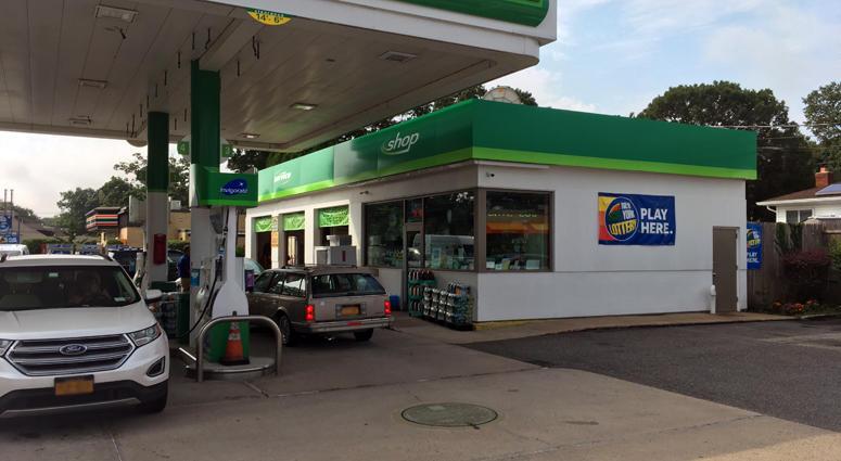 Powerball Merrick Gas Station