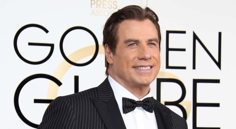 John Travolta at the 74th Golden Globe Awards