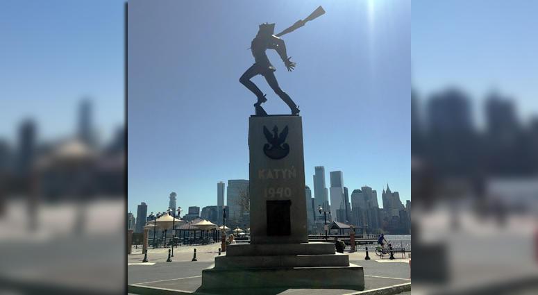 Katyn Memorial In Jersey City