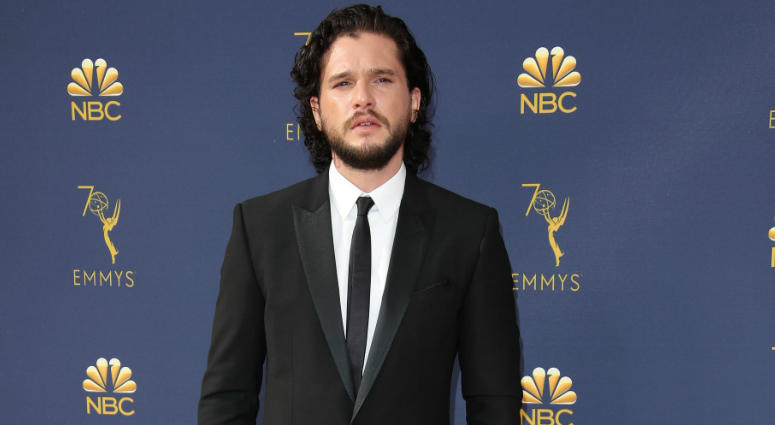 Watch Kit Harrinngton react to potential 'Game of Thrones' endings.