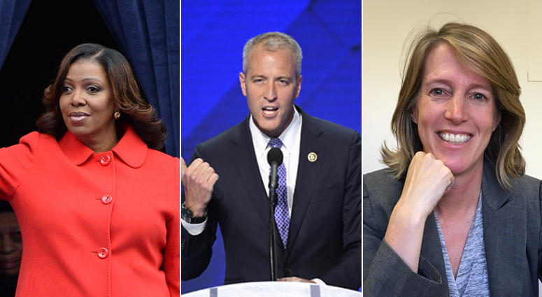 Letitia James, Sean Patrick Maloney, Zephyr Teachout: New York Attorney General Candidates