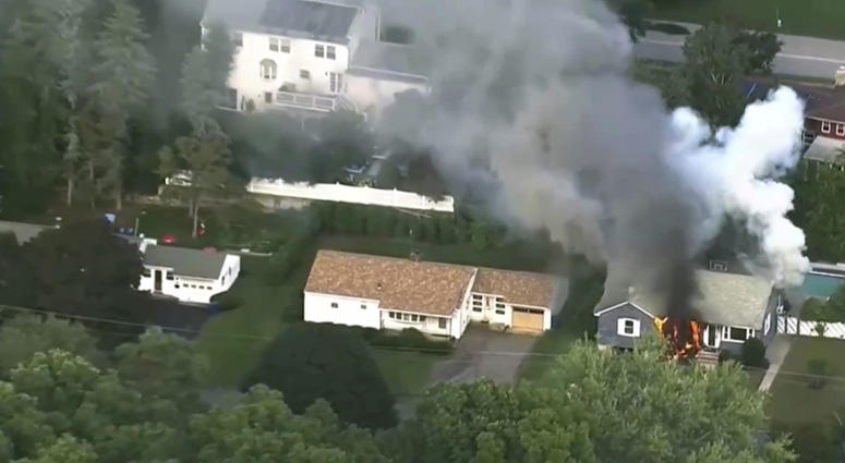 Gas Explosions Set Dozens Of Homes On Fire In Massachusetts