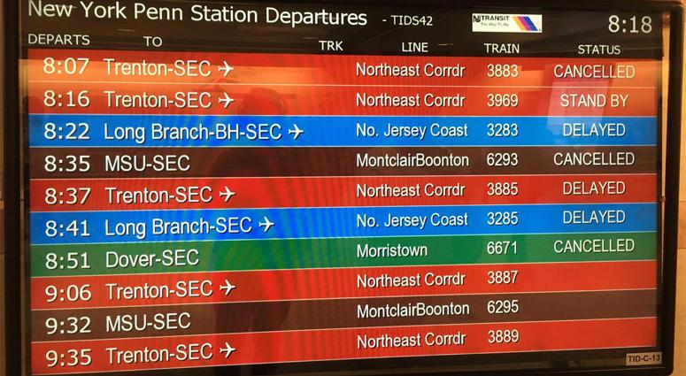 More NJ TRANSIT Delays After Thursday Derailment | WCBS