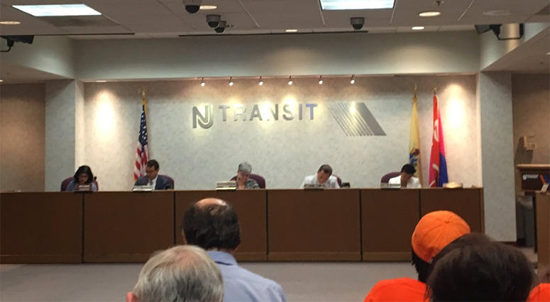 NJ TRANSIT Board Meeting