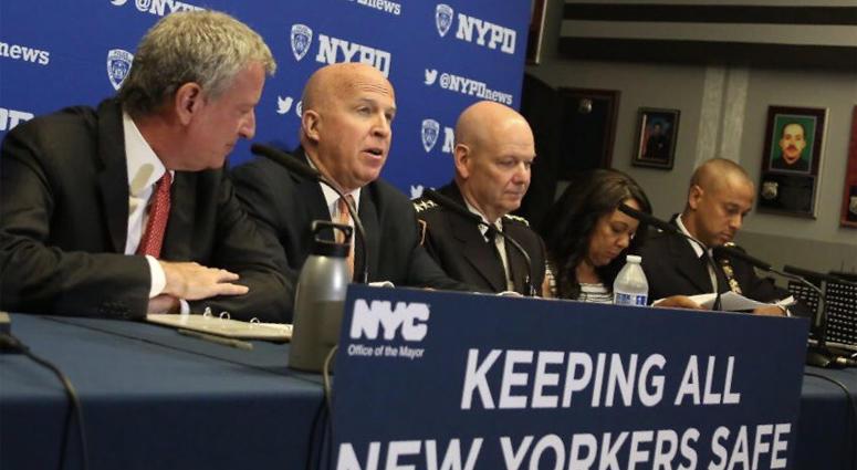 NYPD Crime Statistics Announcement