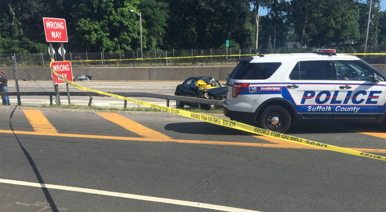 Sunrise Highway Driver Killed By Flying Tire