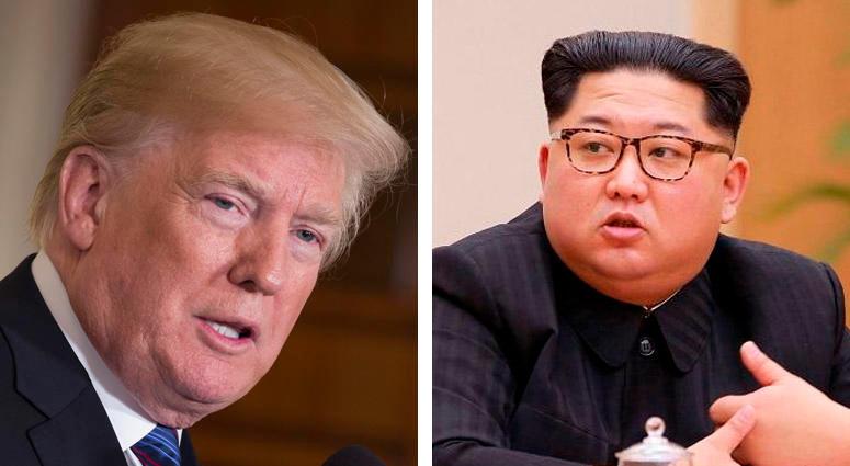 President Donald Trump, Kim Jong Un
