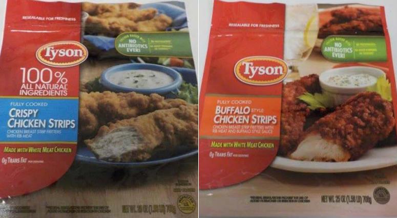 Tyson Chicken Strip Recall