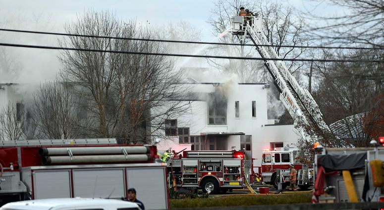Colts Neck Mansion Fire