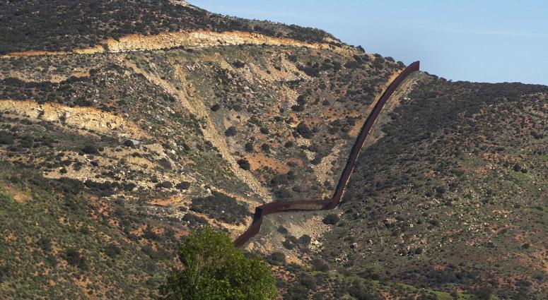 Mexican border near Tijuana