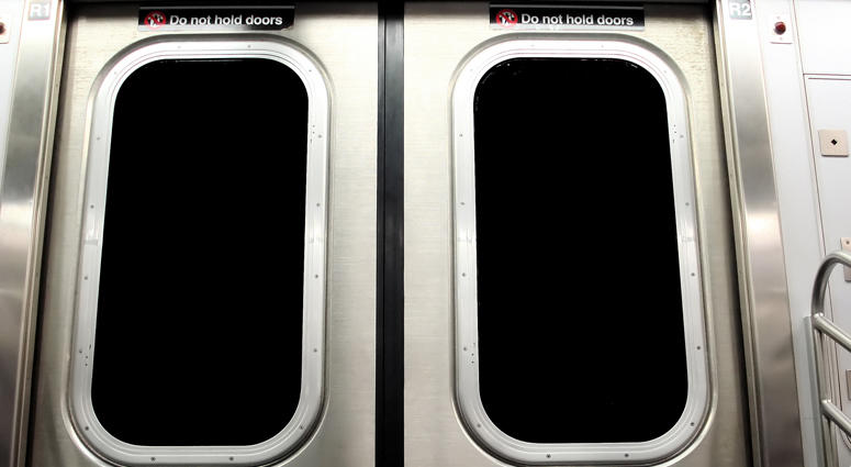 New York City Subway Doors