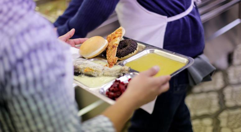 Homeless shelter food