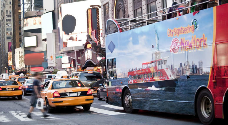 Sightseeing Tour Bus NYC