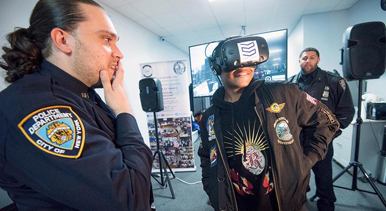 NYPD Options Virtual Reality Program