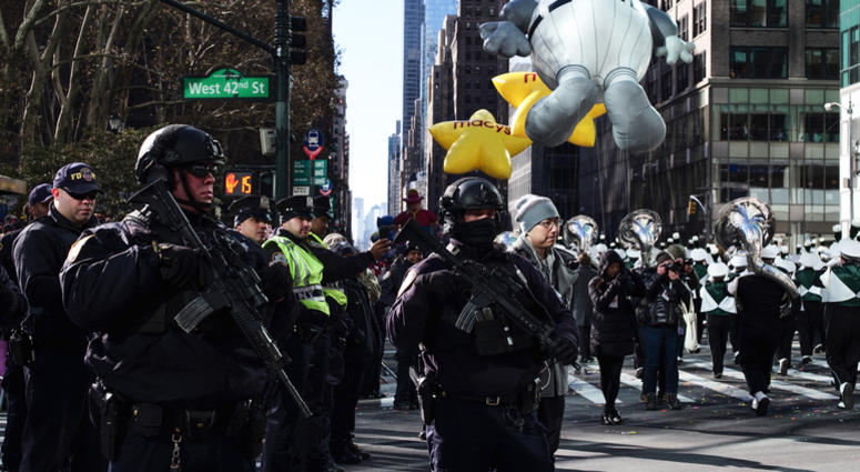 Thanksgiving Parade Security